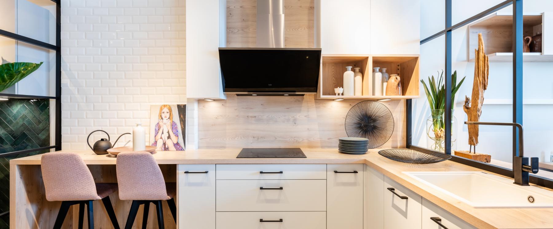 Eenvoud in de Scandinavische keuken