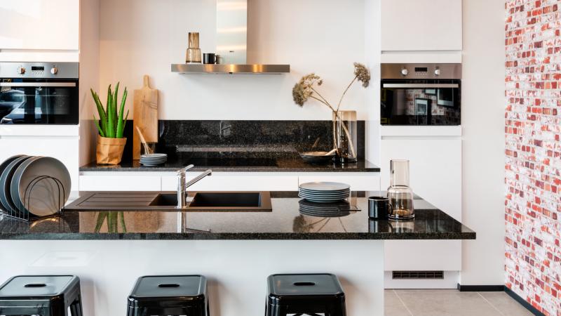 Moderne, stedelijke keuken