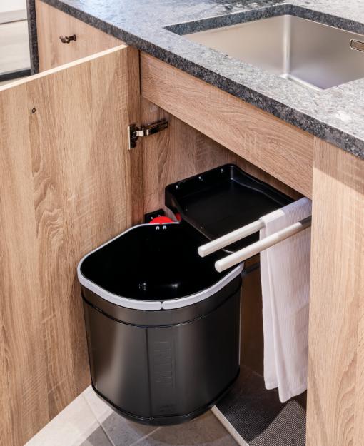 Praktisch afvalsorteersysteem
