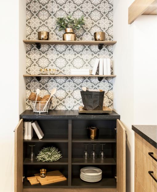 Breng de cottagestijl in huis met tegels