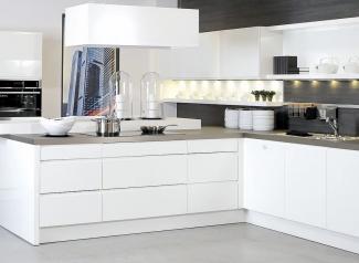 Toonzaal keuken modern
